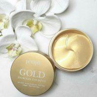 Gold Hydrogel Eye Patch. Гидрогелевые патчи для глаз с золотом