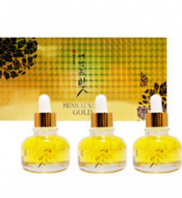 Yedam Yun Bit Prime Luxury Gold Serum 30ml*3 - Роскошный набор из 3-х серумов с золотым порошком 30мл*3