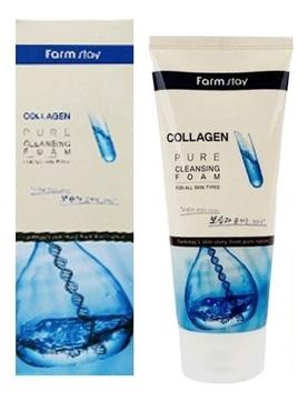 Пенка очищающая с коллагеном Collagen Pure Cleansing Foam 180мл