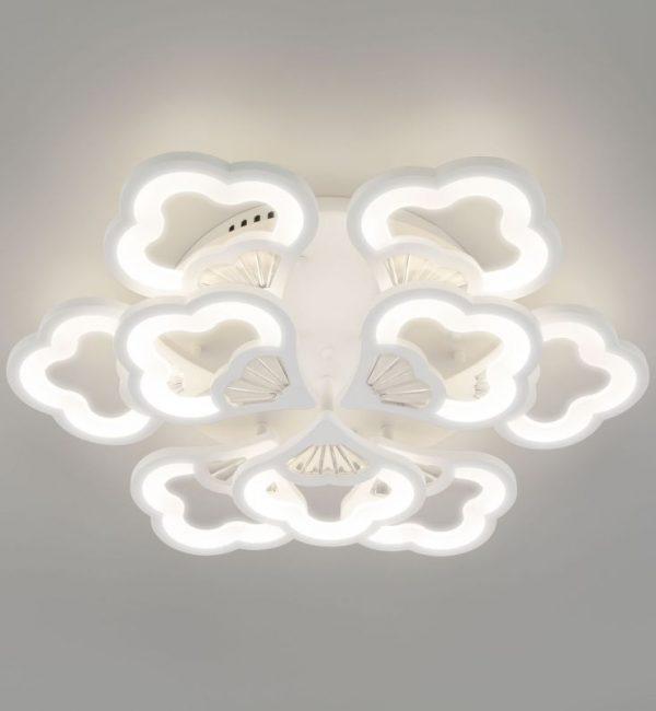 Потолочный светильник Eurosvet Arctic 90141/9 белый