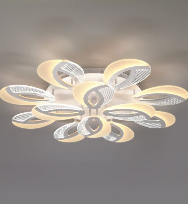 Потолочный светильник Eurosvet Flake 90140/12 белый