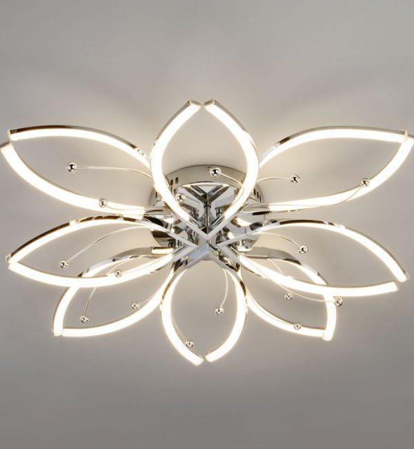 Потолочный светильник Eurosvet Fiona 90092/8 хром