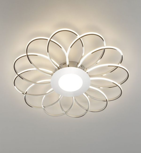 Потолочный светильник Eurosvet Jenssen 90105/13 хром