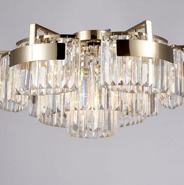 Потолочный светильник Newport 4356+6/PL gold